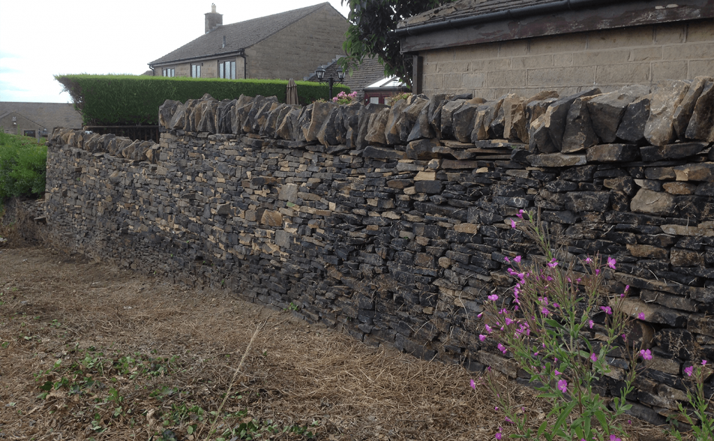 Queensbury - Completed wall
