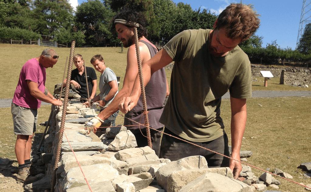 Master craftsman mentors small group